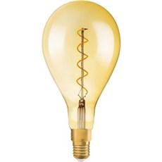 Osram LED - 28W/827 E27 filament klar guld