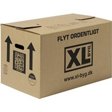 XL-BYG Flyttekasse - Senior enkeltbølge