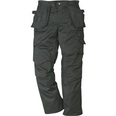Kansas Arbejdsbukser - ProStretch håndv.bukser, herre Str. C46 Sort