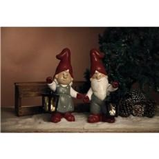 Det Gamle Apotek Dekorativ jul - Dekorationsfigurer m/ lanterne
