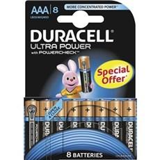 Duracell AAA batterier - Ultra Power AAA 8pk Special Offer