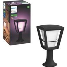 Philips Bedlampe - Econic Hue WACA EU pedestal black 1xNW SORT