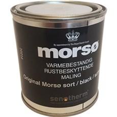 Mors� Vedligeholdelsesprodukt - Mors� senotherm 1/4 ltr. sort metallic