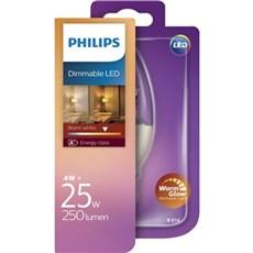 Philips LED - LED 25W B38 E14 WW CL WGD 1BC/4
