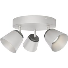 Philips Spotlampe - DENDER RUND 3-SPOTS - KROM