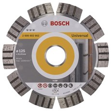 Bosch Diamantskæreskive - BEST UNIVERSAL 125MM