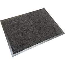 Clean carpet Dørmåtte - Smudsmåtte 60x80 CM Sort/grå