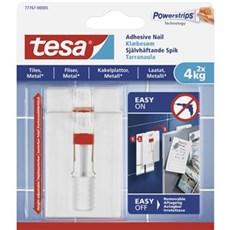 Tesa® Smart ophængningssystem - Justerbart klæbesøm til fliser og metal 4 kg