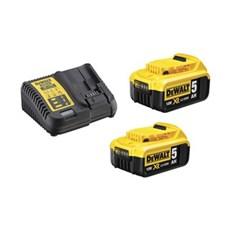 Dewalt Batteri - DCB115P2 18V 2x5,0Ah Batterisæt