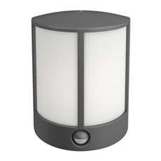 Philips Væglampe - STOCK M/SENSOR - ANTRACIT