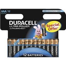 Duracell AAA batterier - Ultra Power AAA 12pk Special Offer