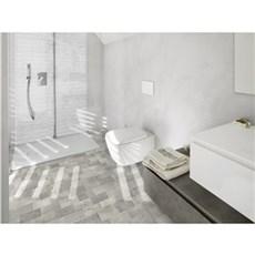 XL-BYG Gulvflise - BETONBRICK FLOOR White-Grey 10x20 cm