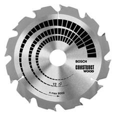 Bosch Rundsavklinge - RUNDSAVKL.CONSTRUCT 160X2,6X20/16 MM 12T