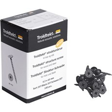 Troldtekt Træbetonloft - 45 MM SORT
