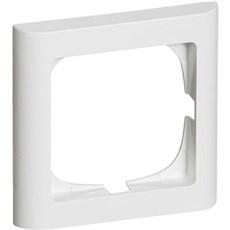 LK FUGA® Stikkontakt - SOFTLINE 63 ramme 1 modul Hvid