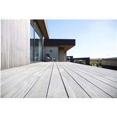 XL-BYG H�rdttr� terrassebr�dder - Cumaru glat/glat