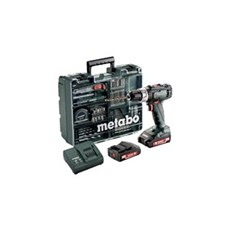 Metabo Akku bore-skruemaskine - BS 18 L 2x2,0 13MM WORKSHOP