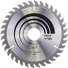 Bosch Rundsavklinge - OPTILINE 165X2,6X30MM 36 TDR