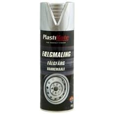 Plasti kote Spraymaling - fælge Metallic sølv 618 400 ml