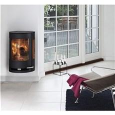 Aduro Væghængt brændeovn - 9-4 sort m/ aduro-tronic