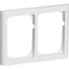 LK FUGA® Ramme - SOFTLINE 63 ramme 2 x 1½ modul, IP20 Hvid