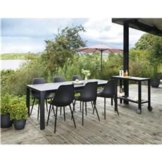 Outrium Havemøbelsæt - Toscana Colmar 6 stole