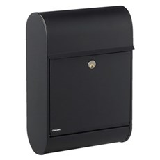 Allux Postkasse - 8900S Sort med rukol�s