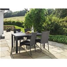 Outrium Havemøbelsæt - Toscana L150 cm/Napoli 4 stole