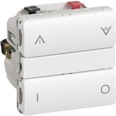 LK FUGA® Wireless lysdæmper - IHC Wireless kombi UNI lysdæmper 1 modul Hvid