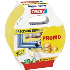 Tesa® Afdækningstape - Precision Indoor malertape x 2 (promo)