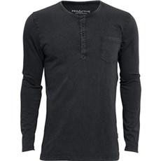 ProActive T-shirt - T-shirt lange ærmer Sort/grå Str. M