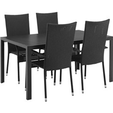 Outrium Havemøbelsæt - Toscana/Toledo 4 stole