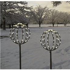 VELI LINE Julebelysning ude - Kuppel træer sæt (Ø25+Ø30)