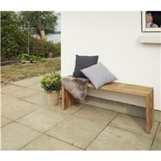 Outrium Haveb�nk - �land tralleb�nk teak L:140 cm