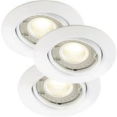 Nordlux Indbygningsspot - TRITON 3-KIT LED COB - HVID