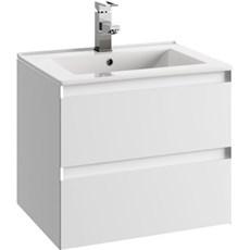 milobad Badeværelsessæt - Charlottenlund 60 hvid