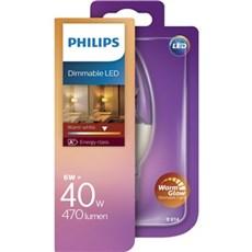 Philips LED - LED 40W B38 E14 WW CL WGD 1BC/4