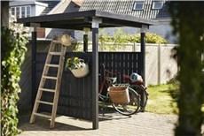 Plus Træredskabsskur - Cubic Cykelskur