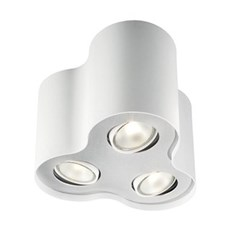 Philips Loftlampe - PILLAR 3-SPOTS - HVID
