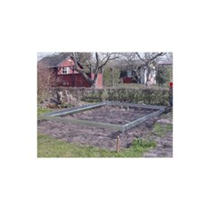 Halls Fundament - ST�LFUNDAMENT POPULAR 106 6,2m2 SO1696