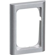 LK FUGA® Ramme - SOFTLINE 63 ramme 1 1/2 modul Stålmetallic