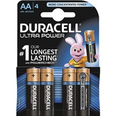 Duracell AA batterier - Ultra Power AA 4pk