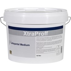 XTRAPROFF Spartelmasse - Medium færdigblandet 10 ltr.