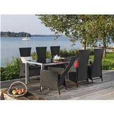 Outrium Havemøbelsæt - Alsace Lyon 6 stole