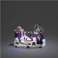 Konstsmide Julepynt med lys - Mekanisk juledekoration
