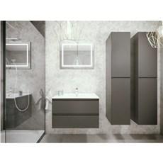 milobad Badeværelsessæt - Charlottenlund 80 mat grå