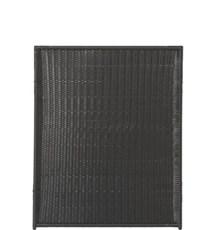 PLUS Hegn nem vedligehold - Trend Sort 115x140cm