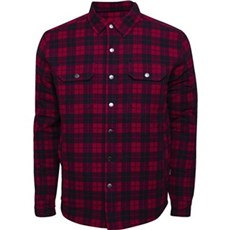 ProActive Skjorte - Rød/sort med foer Str. S