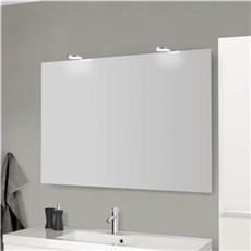 Scanbad Spejl - Spejl med Jupitor LED lampe 120 x 80 cm