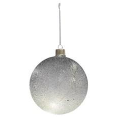 Christmas by Nordlux Julepynt med lys - SEBASTIAN GLASKUGLE GRÅ